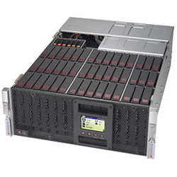 "Supermicro SuperServer, 4HE, 45 x 3.5"" HDD/SSD 6049P-E1CR45L"